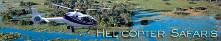 Helicopter Safaris in Africa