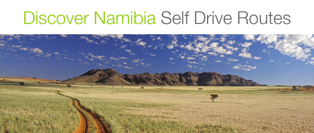 Namibia Self Drive Routes