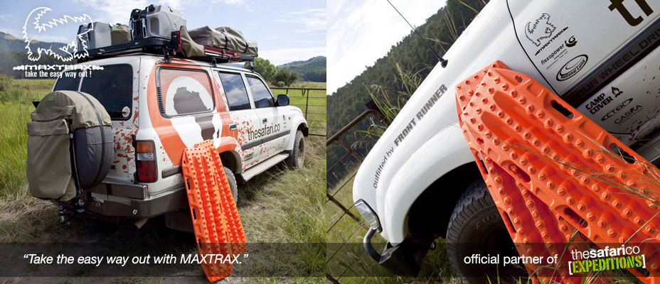 The Safari Co. Expeditions with MAXTRAX Vehicle Recovery Device