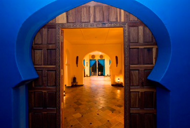 Prana House Entrance